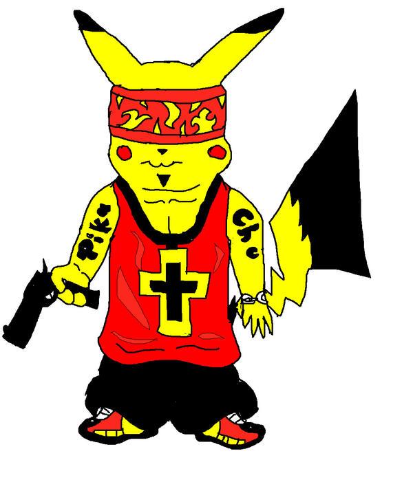 gangster pikachu - photo #2