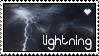 Lightning Stamp by bjvzz