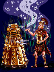 Rory and the Dalek