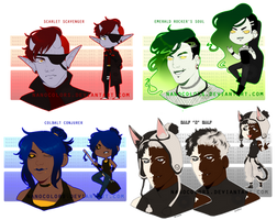 Adopts: The Color Spectrum -- RGBW [CLOSED] by NanoColors