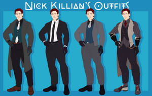 AFH: Nick's Suits Reference (2018) by NanoColors