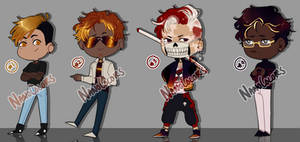 Adopts: Sunset Bois [CLOSED] by NanoColors
