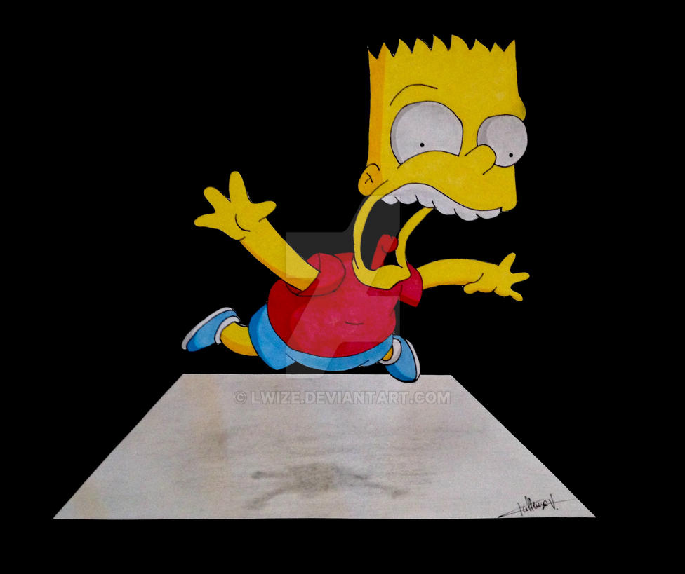 Bart Simpson by lwize