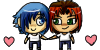 CC and BB pixel by SuperHeroPattyFatty