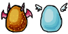 Egg Adoptables (Closed) by SuperHeroPattyFatty