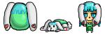 Egg Adoptable for kokoro-kattie - All three stages by SuperHeroPattyFatty