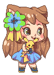Ash with Pikachu - AC by SuperHeroPattyFatty
