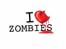 I heart zombies by mwmax