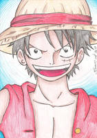 Monkey D. Luffy by BrunoPellico