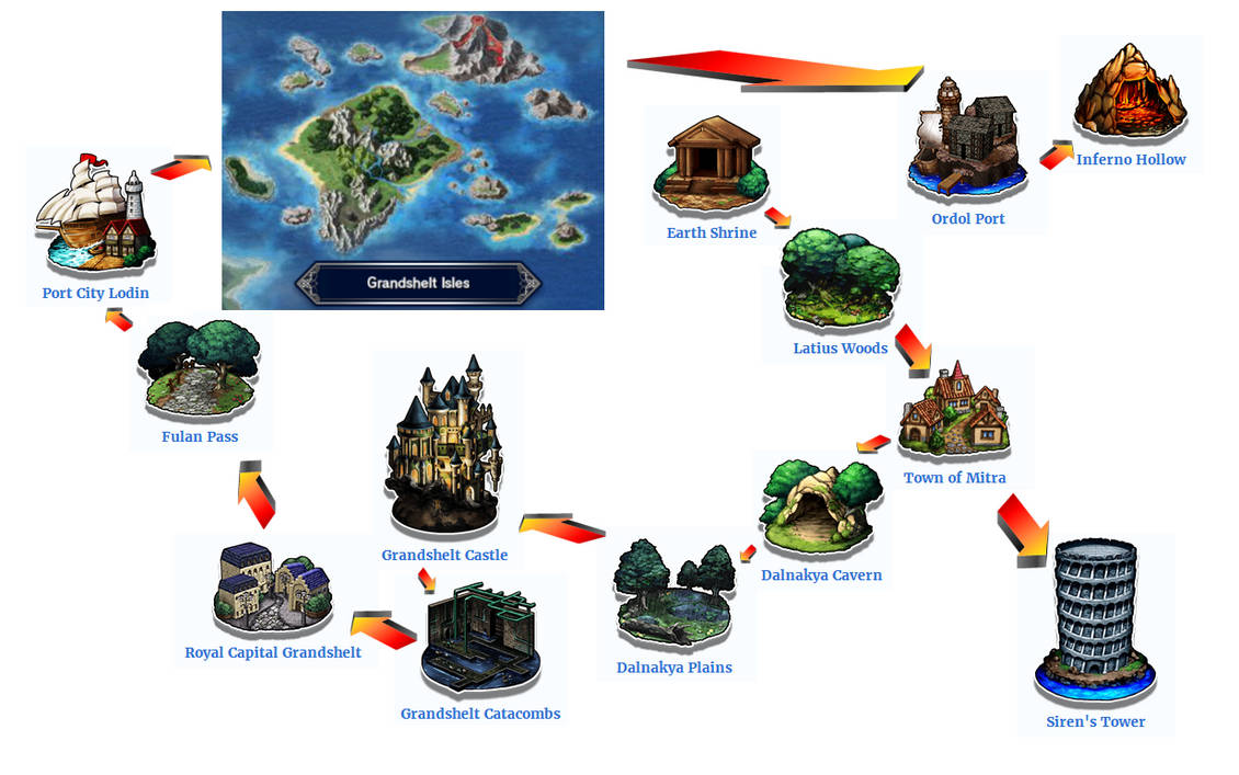 Grandshelt Isles Map By Thatisasecret On Deviantart
