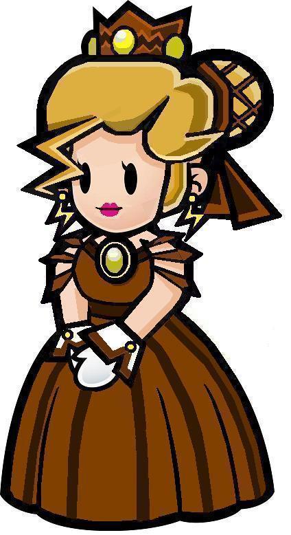 Paper Mario Princess Peach Cake