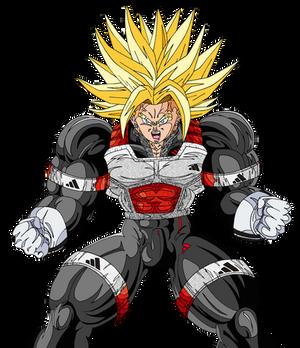 Trunks Super Saiyan dai san-dankai