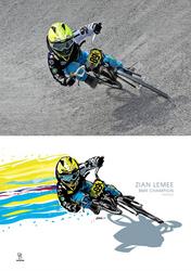 Zian Lemee, BMX Champion