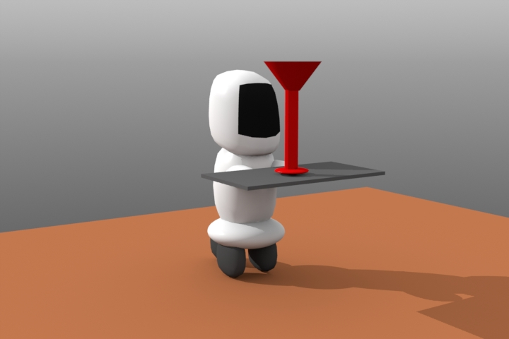 Ombe the robot by cuddlederpy