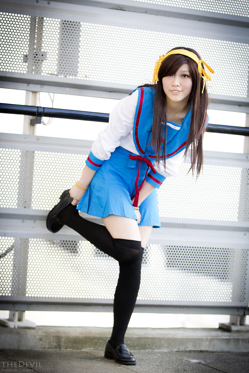 Suzumiya Haruhi by theDevil-photography