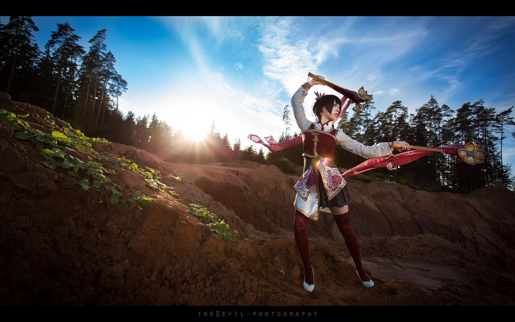 Dynasty Warriors - Da Qiao by theDevil-photography