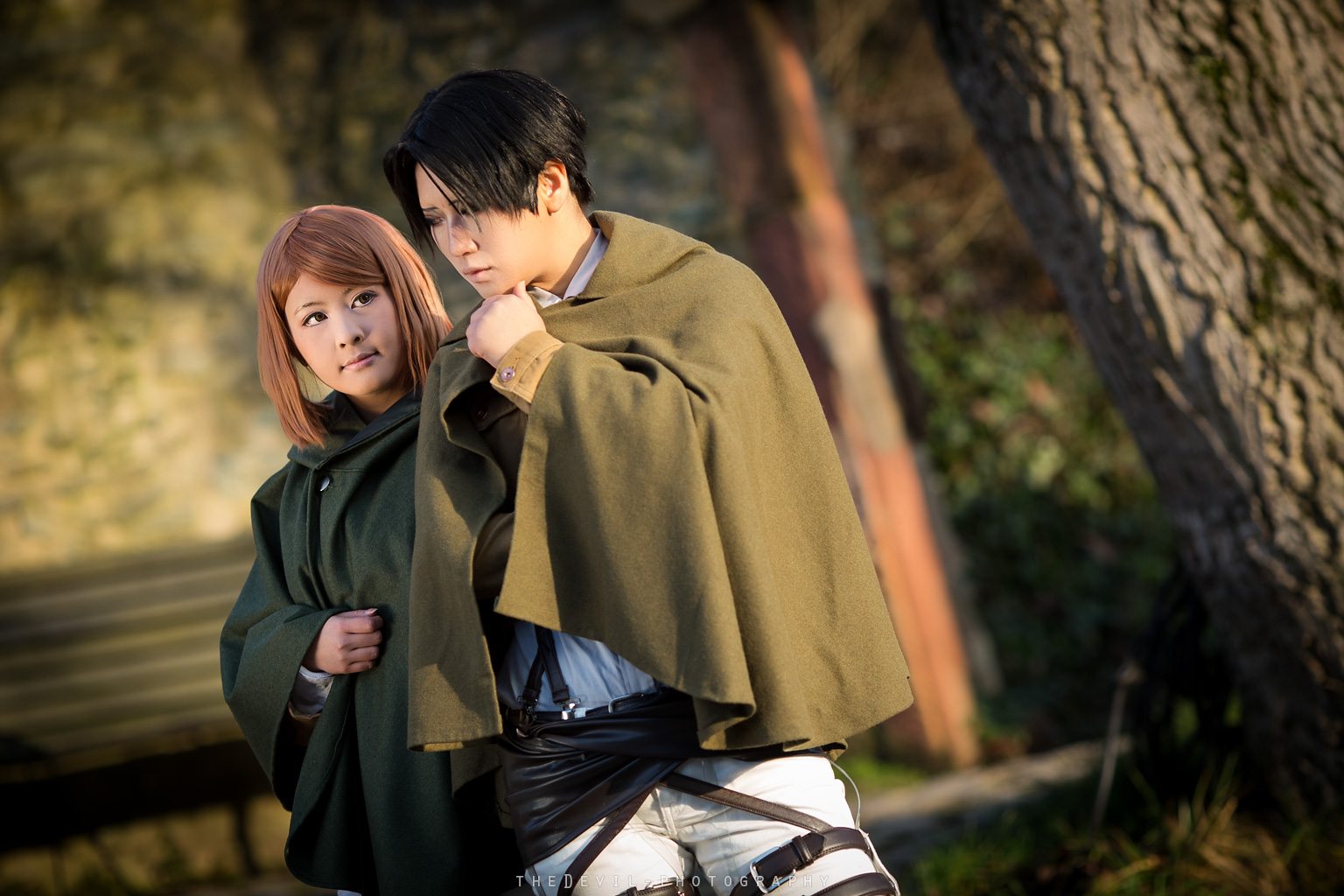 SnK - Levi and Petra by theDevil-photography