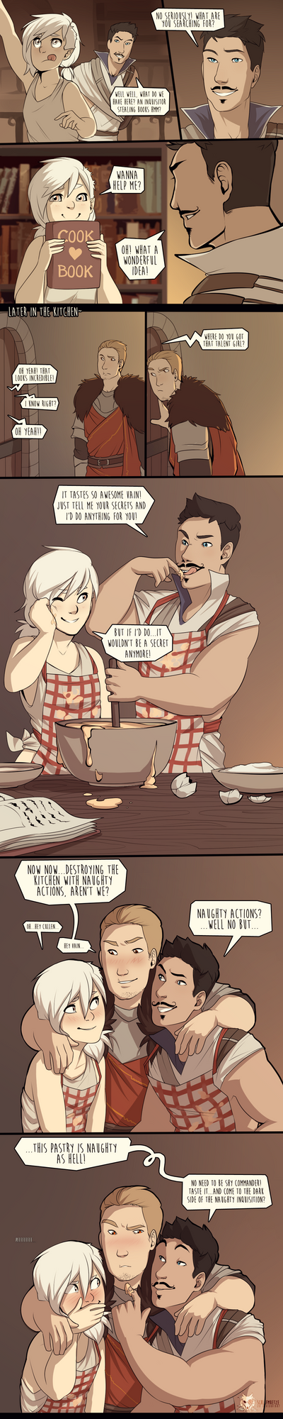 DAI_the naughty cook book by schl4fmuetze
