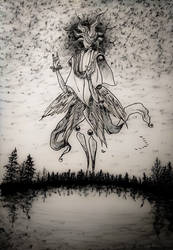 Angel of dusk