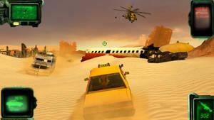 FO:E Wasteland Taxi Service.
