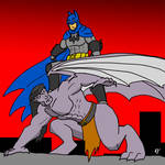 March 25 Goliath meets Batman by ObsidianOrder
