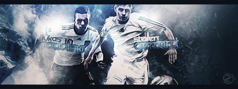 Podolski y Gerrard by zWorks16