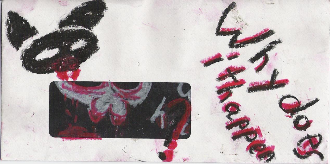 Mittenkitten- Envelope by mittenkitten