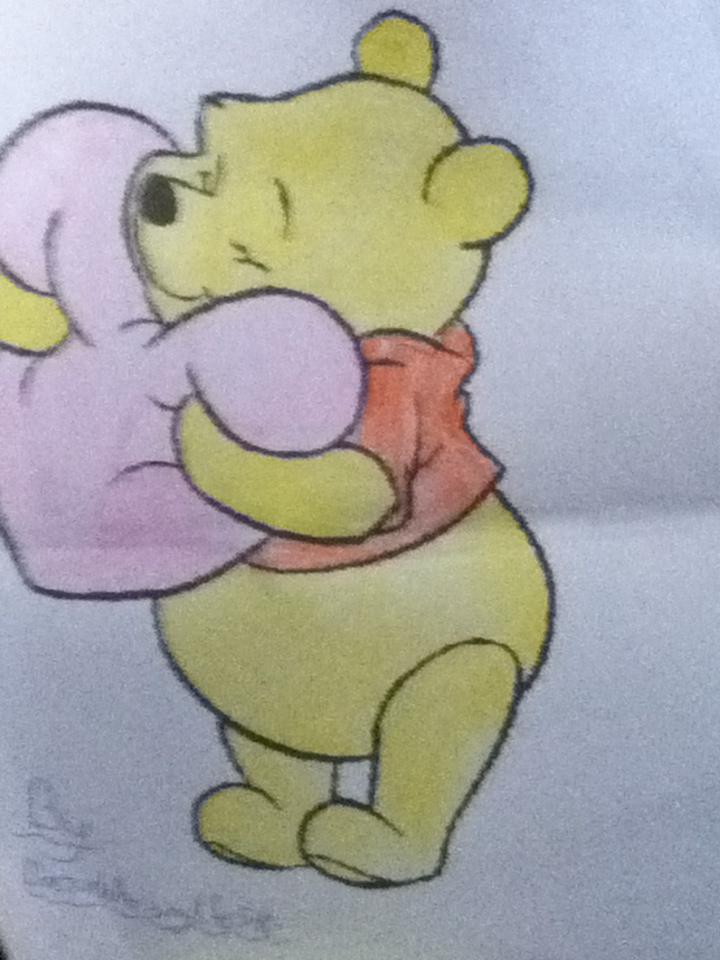 winnie the pooh valentine's day coloring!doctorwhoismylife540, Ideas