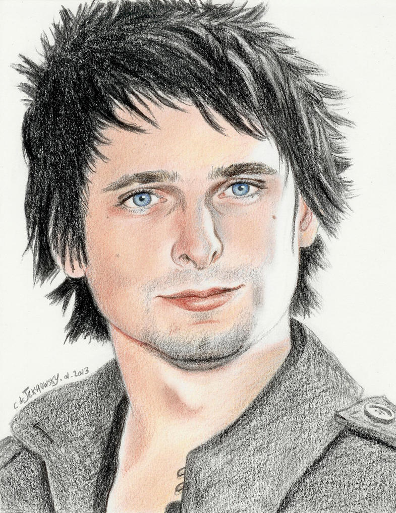 Matthew BELLAMY by Someone-Else79