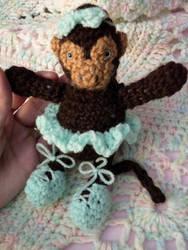 Amigurumi Ballerina Monkey by steenta