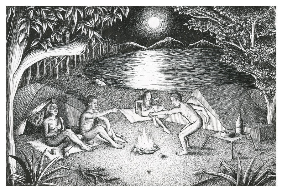 """Nudist Camping"" by Luanna Vidolim"