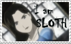 I am Sloth stamp by rigbyxc2007