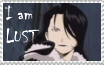 I am Lust stamp by rigbyxc2007