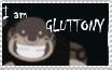 I am Gluttony stamp by rigbyxc2007