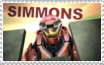 Simmons stamp by rigbyxc2007