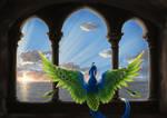 Welcoming the dawn by Kyrrahbird