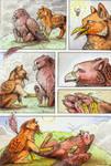 Tickling Gryphs by Kyrrahbird