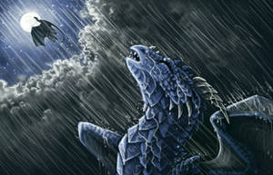 Rain by Kyrrahbird