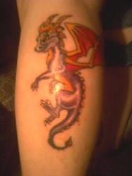 Spyro the Dragon by freaky-arctic