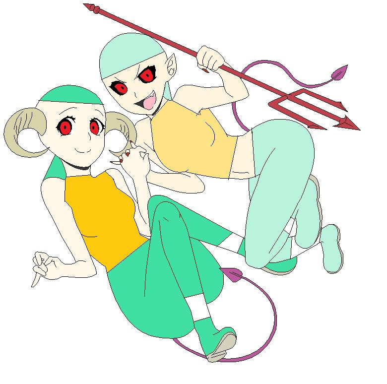 Aku-Ma Squidward (Akuma Rin) By Amythehedgehog21 On DeviantART