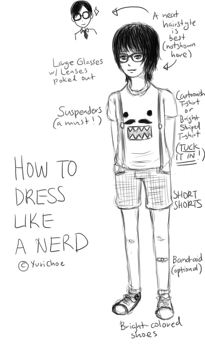 How to dress like a nerd girl for spirit week