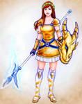 Game Character by YawyawArt