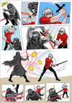 Mirage Noir vs Star War 4 by YawyawArt