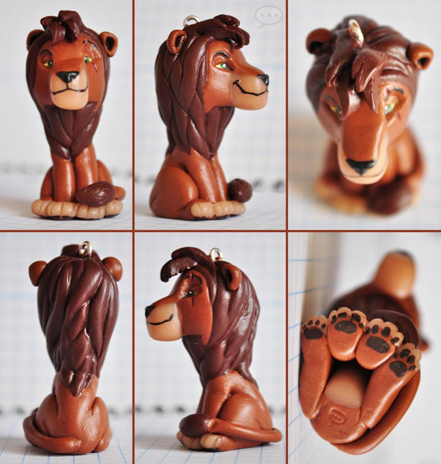 clay adult Kovu by cihutka123