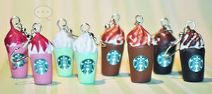 clay Starbucks frappe