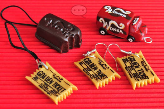 clay Willy Wonka set
