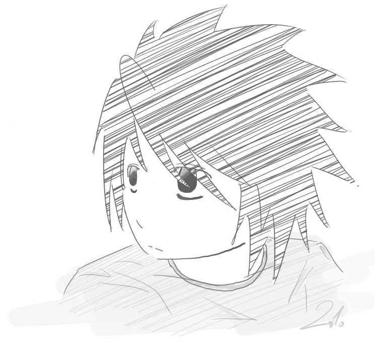 Quick drawing of L by Tarka-r