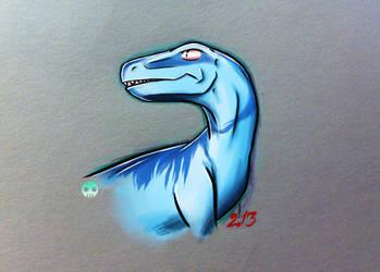 Blue raptor by Tarka-r
