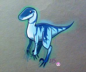 Blue raptor II by Tarka-r