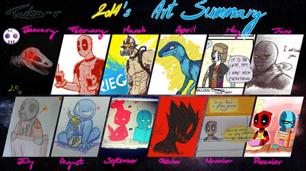 2014 Art Summary Meme